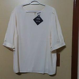 Brand new satin blouse